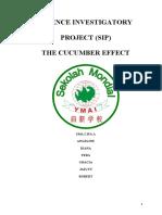 The Cucumber Effect