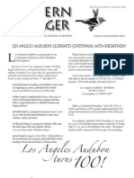 May-June 2010 Western Tanager Newsletter - Los Angeles Audubon