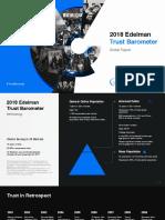 Informe Edelman sobre medios, redes sociales y confianza
