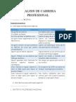 ANALISIS DE CARRERA PROFESIONAL