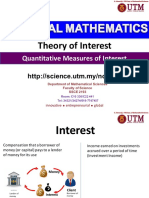 Financial Mathematics 1