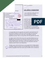 simon - response work