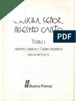 portada de ESCUCHA SEÑOR NUESTRO CANTO