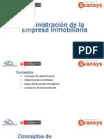 1. Administracion de La Empresa Inmobiliaria 07.2018