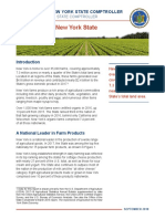 New York State Agriculture Report 2018