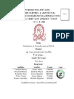 Fundamentos Del Desarrollo Ágil y SCRUM
