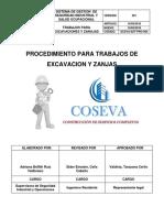 Ecsva Sst for 004 Procedimiento Para Trabajos de Excavacion y Zanjas
