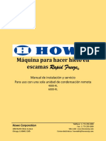 Installation & Service Manual for Use With Remote Single Condensing Unit (RLE)_SPANISH