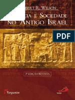 Profecia e Sociedade no antigo israel