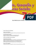 7 Basico - Hist. Cs. Sociales - MN - Profesor