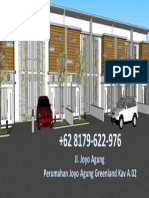 Perumahan In house, WA +62 852-5886-1864, Rumah Dijual