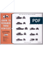Army Tanks Recognition Poster