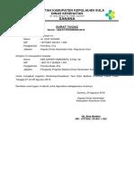 Surat Tugas e Sismal 2018