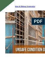 Unsafe Condition Di Bidang Konstruksi