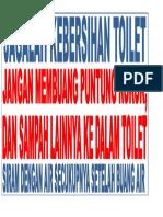 Judul Di Toilet
