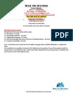 WBCS Preliminary Question Paper Preliminary 2005