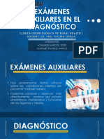 Exámenes Auxiliares en El Diagnóstico