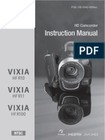 Manual Canon Vixia HF R 11