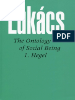 LUKACS the ontology of social being