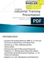 Presentation During Practical