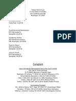 DEA Administrative Law Case