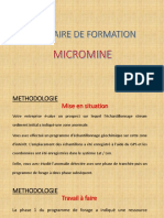 Micromine Formation 2