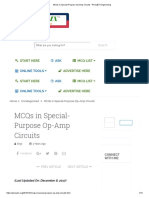 MCQs in Special-Purpose Op-Amp Circuits • Questions 14