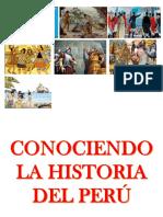 CONOCIENDO LA HISTORIA DEL PERÚ