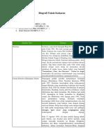 Struktur Teks Biografi Tokoh Soekarno