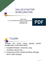 Week 5&6 - Analisis Faktor Eksploratori