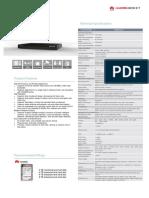 Huawei VCN5X0 V100R002C30 datasheet V1.3 (E20180808).pptx