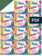 Happy Teachers Day Tag