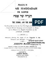 1904 - Magil's Linear Haggadah for Passover