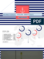 Kromatografi Kolom Gravitasi (Kelompok 5) Itp-2d