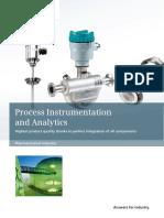 Instrumentation in Pharmaceuticals