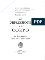 A.lowen - La Depressione e Il Corpo. La Base Biologica Della Fede e Della Realta - Astrolabio 1980
