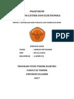 Cover Laporan Praktikum Rangkaian Listrik