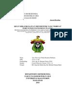 Terjemahan Journal Orthodontik Ince Tien's