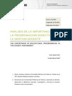Analisis De La Importancia De La Programacion Didactica.pdf