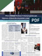 Ofrece EGADE Business School proyectos que impulsan el desarrollo de grandes y pequeñas empresas