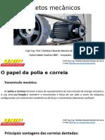 Projetos Mecânicos - 2º Aula - Dimensionamento de Polias