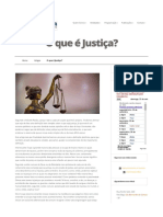 Justiça - Aspectos diversos