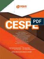 Apostila 500 Questões da Cespe (2017) - Nova Concursos.pdf