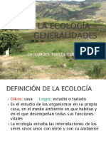 Clase 1  - La Ecologia - Generalidades.ppt