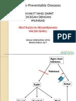 PD3I Penyakit Yg Dpt Dicegah Dgn Imunisasi 2017