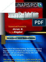 Structural Steel Bolted Joints By Megdad -NAPIS.ppt
