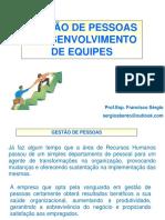 GESTÃO DE PESSOAS E DESWENVOLVIMENTO DE EQUIPES