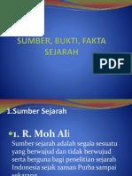 SUMBER, BUKTI, FAKTA SEJARAH.pptx