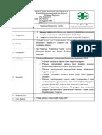 SOP Umpan Balik (Pelaporan) dari Pelaksana kepada Penanggungjawab dan kepada pimpinan.docx