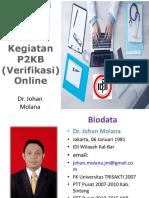 Aktivasi IDI ONLINE Dan Kegiatan P2KB Singkawang (Verifikasi